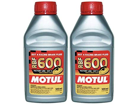 Motul 8068HL RBF 600 Factory Line Racing Brake Oil