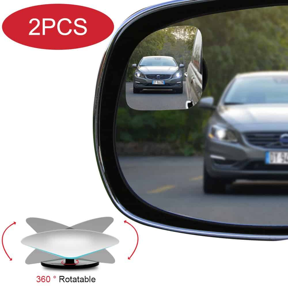 POMFW Adjustable Convex Frameless Mirror