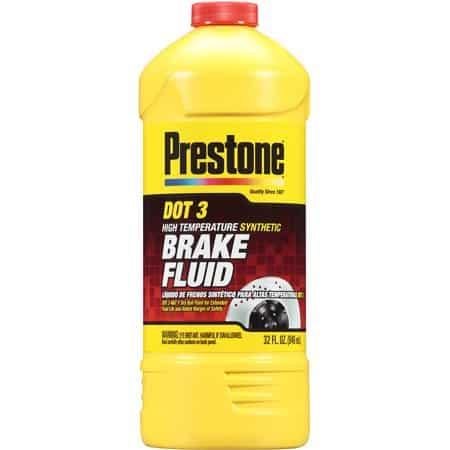 Prestone Ounce AS401 DOT 3 Synthetic Brake Fluid
