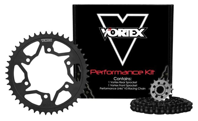 Vortex V3 WSS Chain And Sprocket Kit