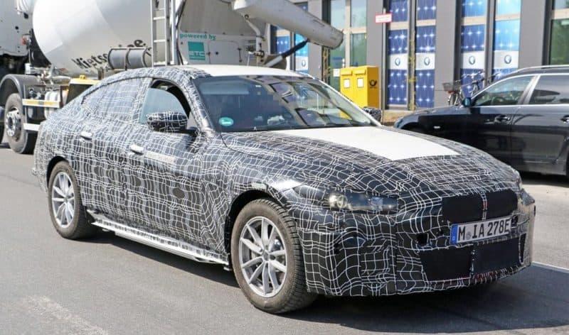 BMW i4 test mule