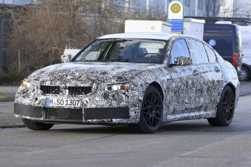 BMW M3 test mule