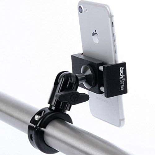 tackfrom no sling needed metal motorcycle phone mount