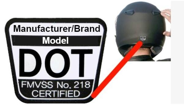 Dot Certification Sticker