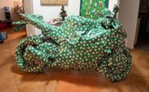 Motorcycle Gifts - Wrapped Up Motorcycle