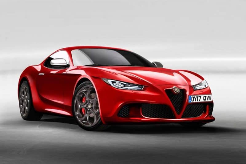Alfa Romeo GTV rendering