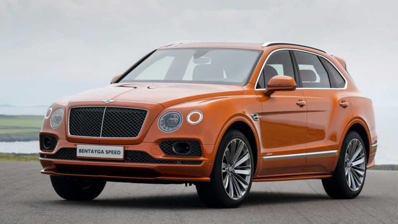 Bentley Bentayga Speed is one of the best luxury vehicles 2021 has to offer