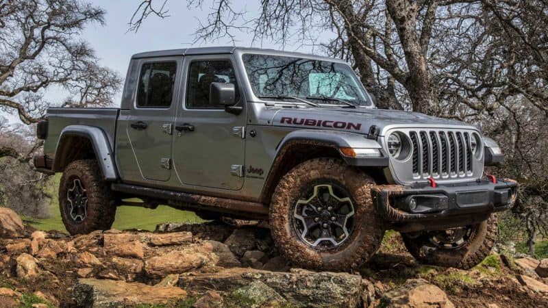 Jeep Gladiator is one of the best 2021 trucks