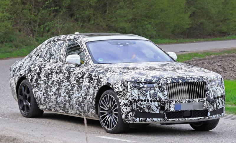 Rolls Royce Ghost test mule