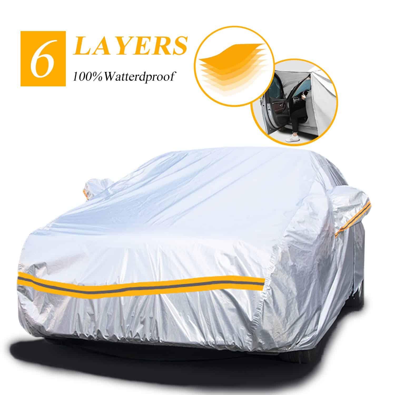 Autsop Waterproof Outdoor Covers for Cars