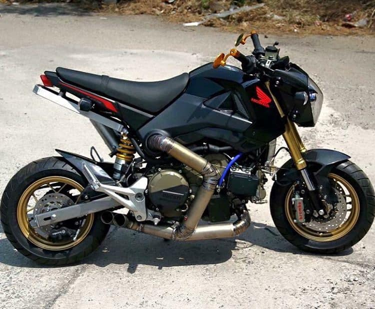 Panigale Grom Mash Up