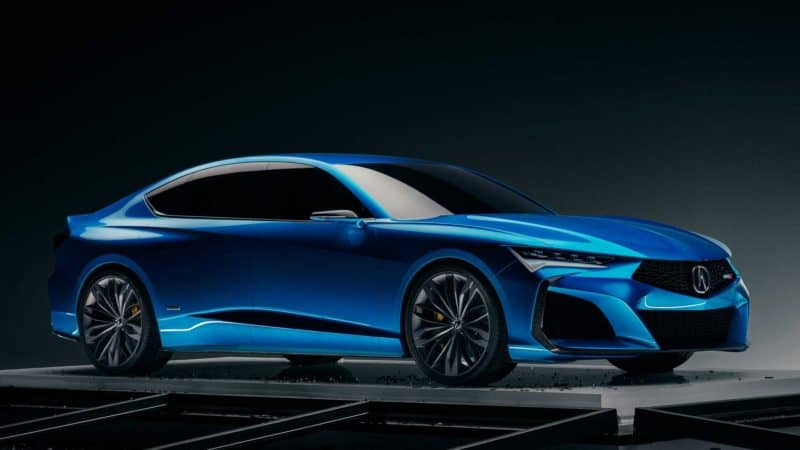 Acura Type S Concept previews the 2021 Acura TLX