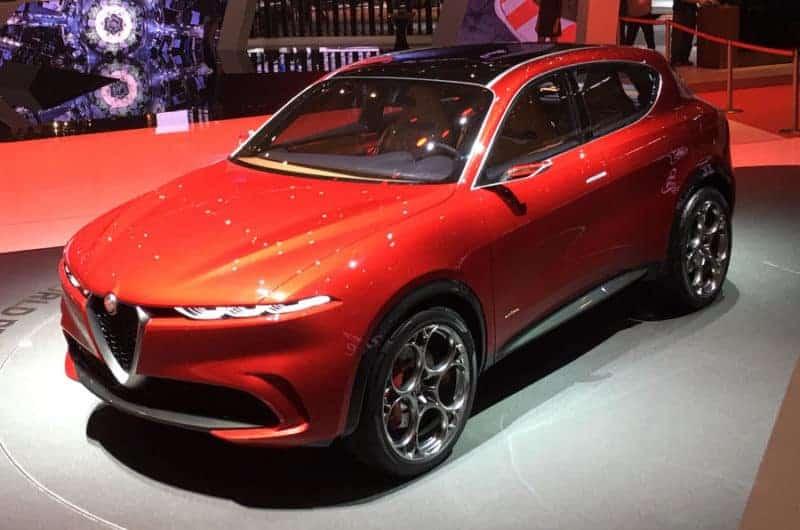 2021 Alfa Romeo Tonale concept