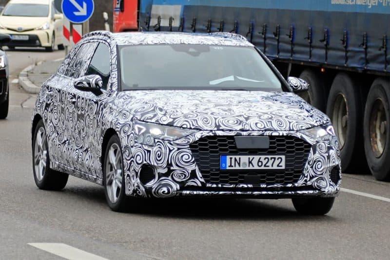 Audi A3 test mule