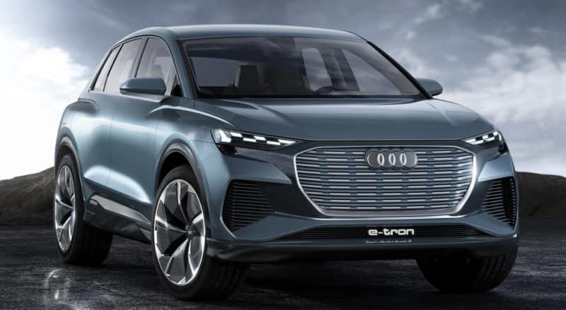 2021 Audi Q4 e-tron concept