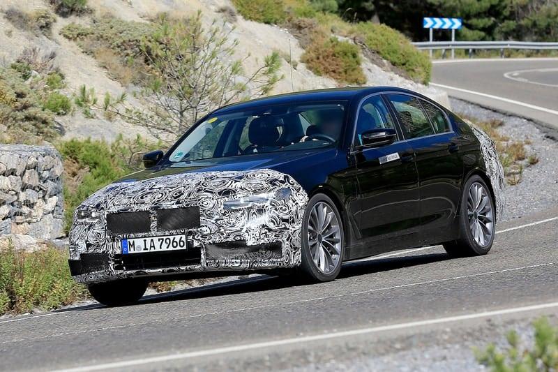 BMW 5 Series test mule