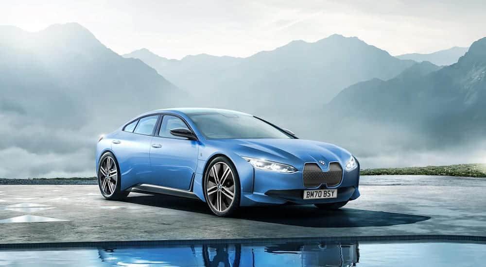 BMW i4 rendering