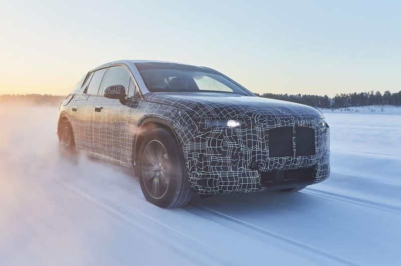 2021 BMW iNEXT test mule