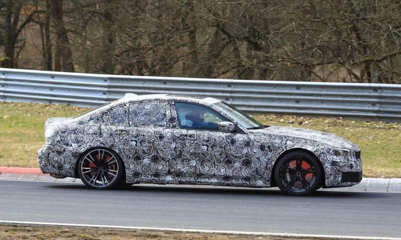 2021 BMW M3 test mule