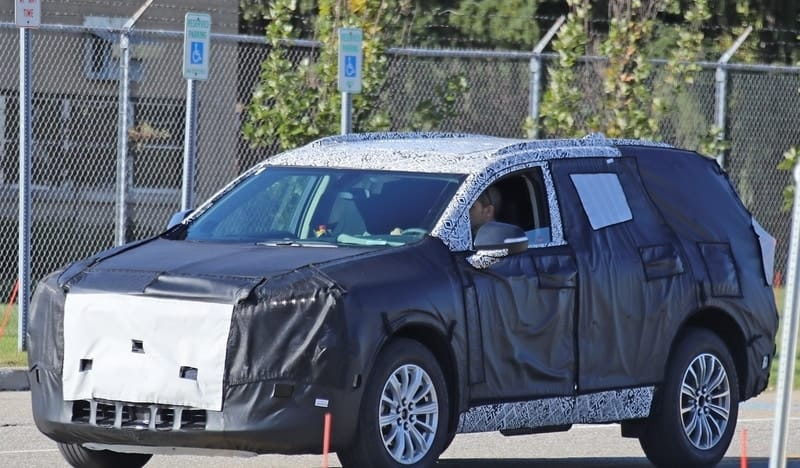 2021 Buick Envoy test mule