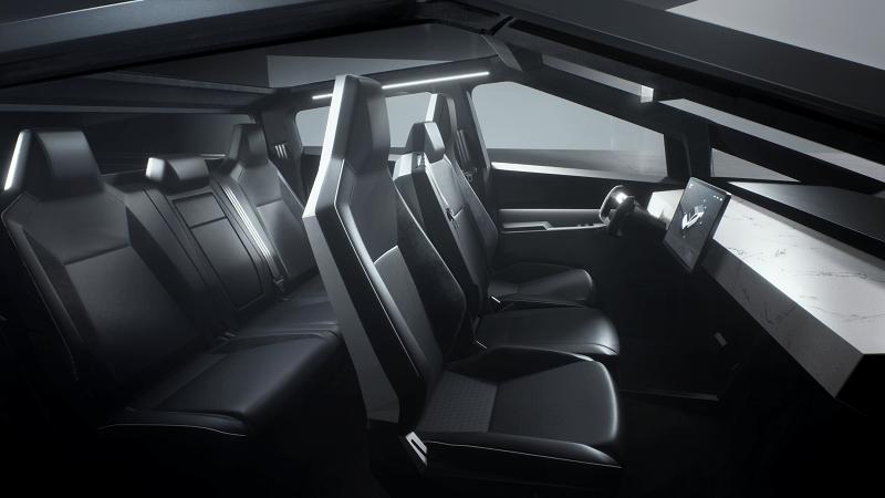 2021 Cybertruck Interior