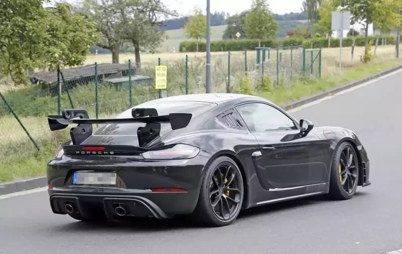 2021 Porsche 718 Cayman GT4 RS Rear