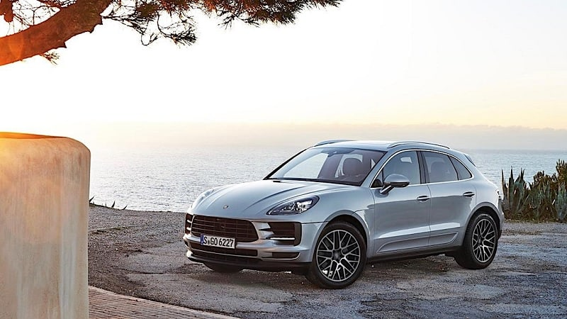 2021 Porsche Macan EV Side View