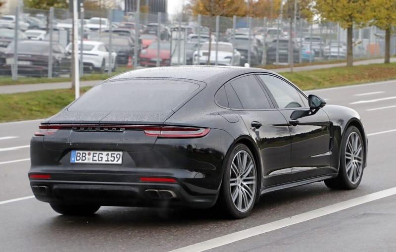 2021 Porsche Panamera Sedan Rear
