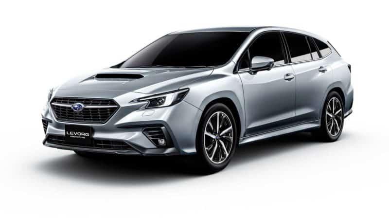 2021 Subaru Levorg Front 3/4