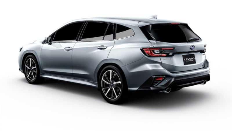 2021 Subaru Levorg Rear 3/4