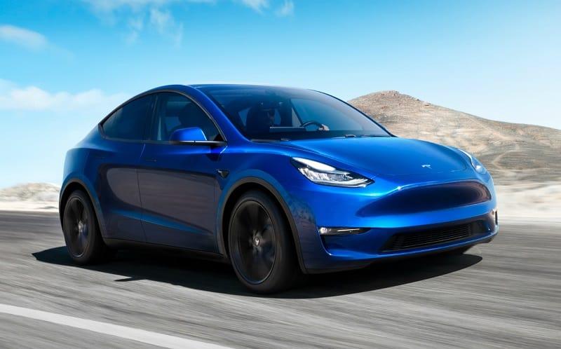 2021 Tesla Model Y Front