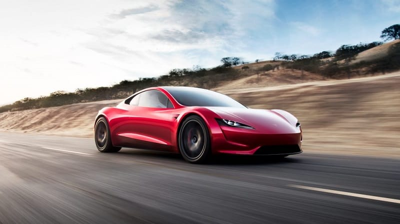 2021 Tesla Roadster In Motion