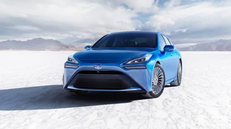 2021 Toyota Mirai Front View