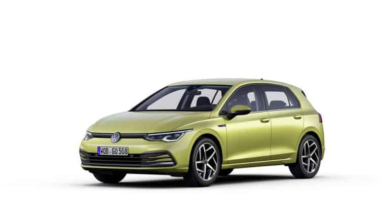 2021 Volkswagen Golf Side View