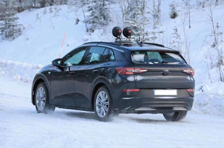 2021 Volkswagen ID Crozz Spy Shot Rear