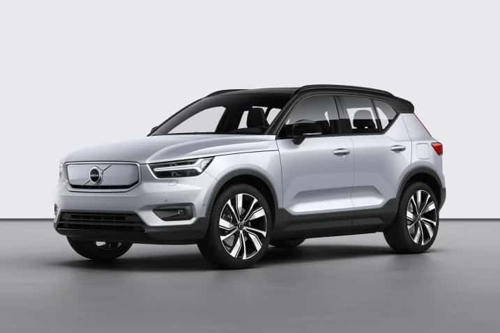 2021 Volvo XC40 Recharge Parked