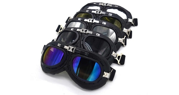 Aviator Goggles For Motorcyclists