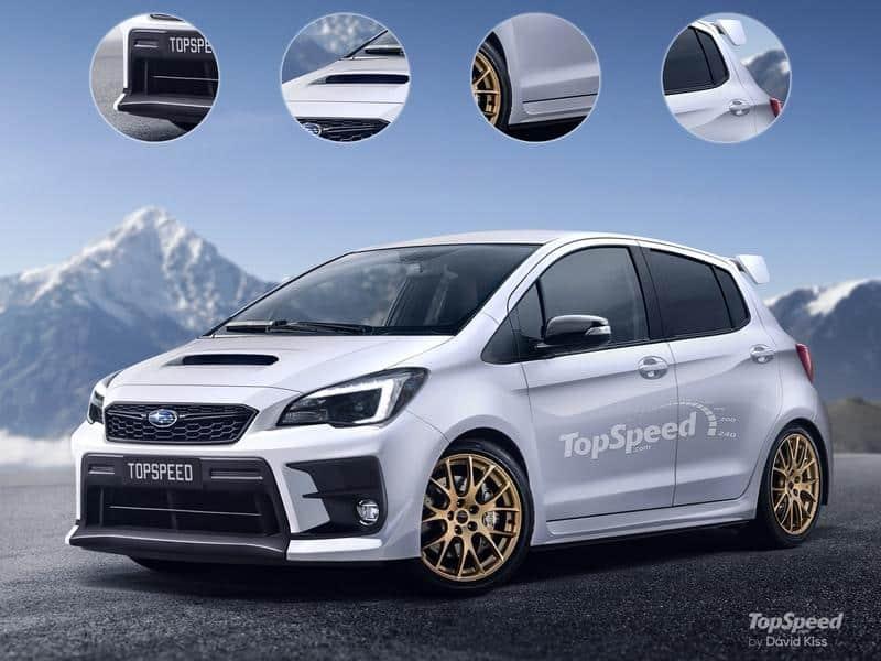 Subaru Hatch Rendering