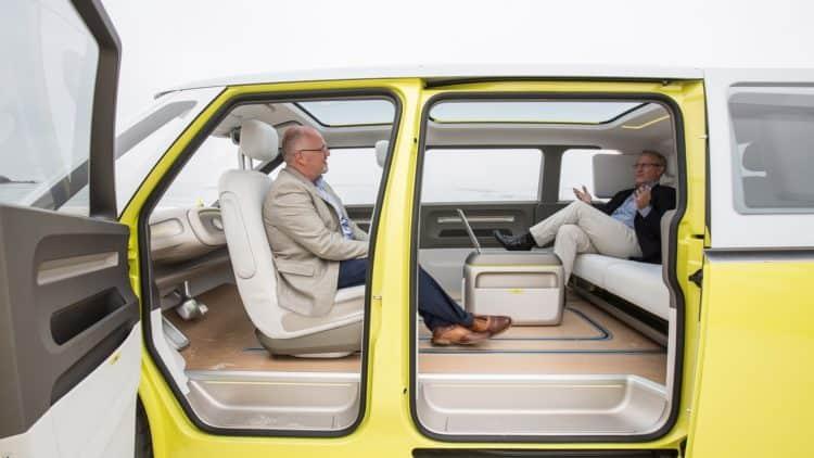 VW ID Buzz Concept Microbus Interior