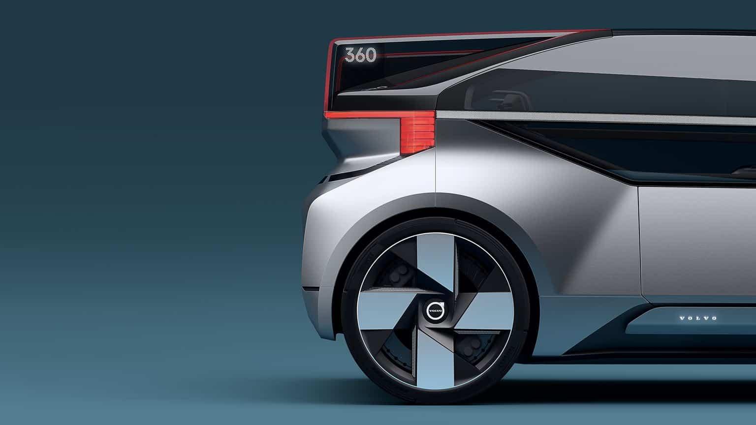Volvo 360c Concept Rear