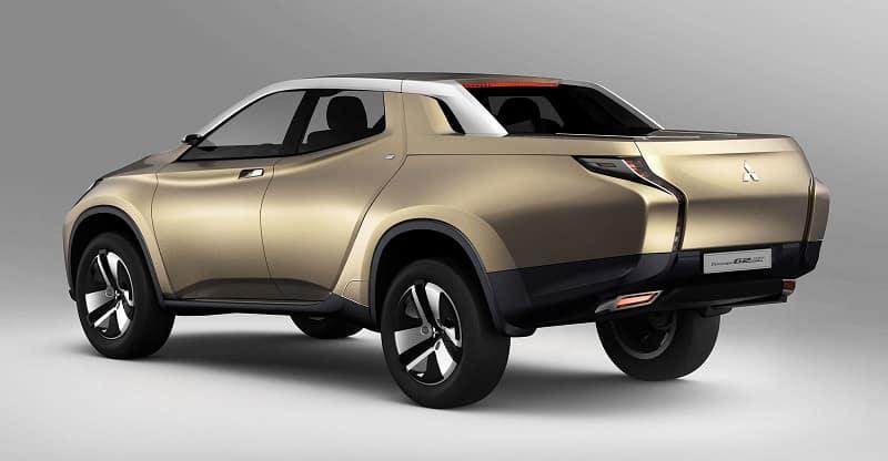 2013 Mitsubishi GR-HEV concept truck rear