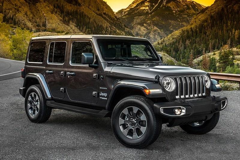 2020 Jeep Wrangler Front 3/4