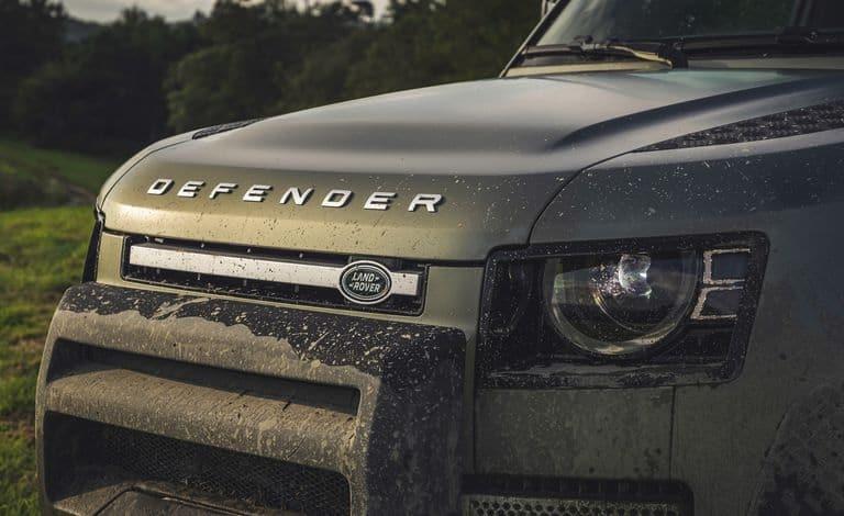 2020 Land Rover Defender Hood