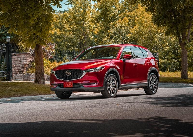 2020 Mazda CX-5 In Red
