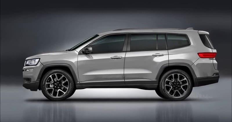 2021 Jeep Grand Cherokee Rendering