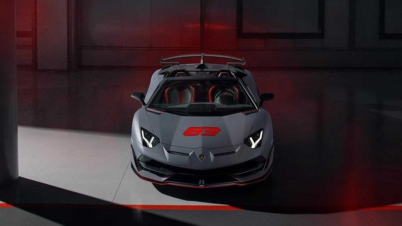 2021 Lamborghini Aventador SVR Front