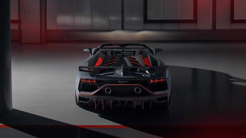 2021 Lamborghini Aventador SVR Rear