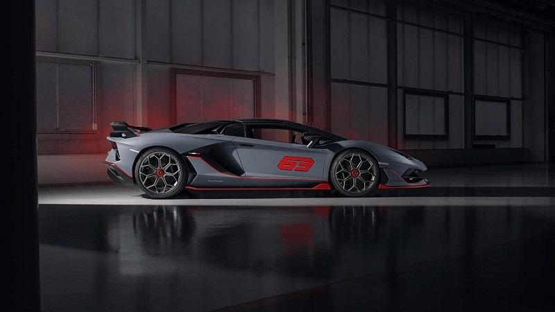 2021 Lamborghini Aventador SVR Side Shot