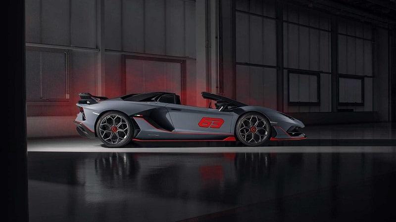 2021 Lamborghini Aventador SVR Side View