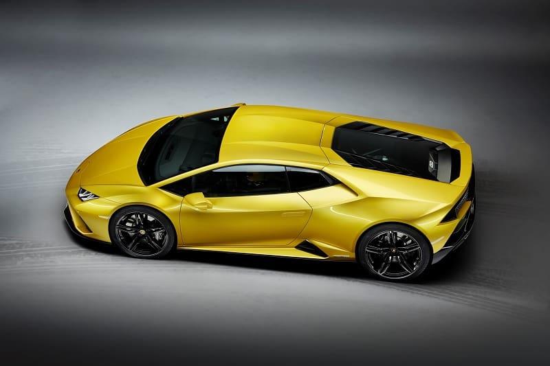 2021 Lamborghini Huracan EVO RWD Above